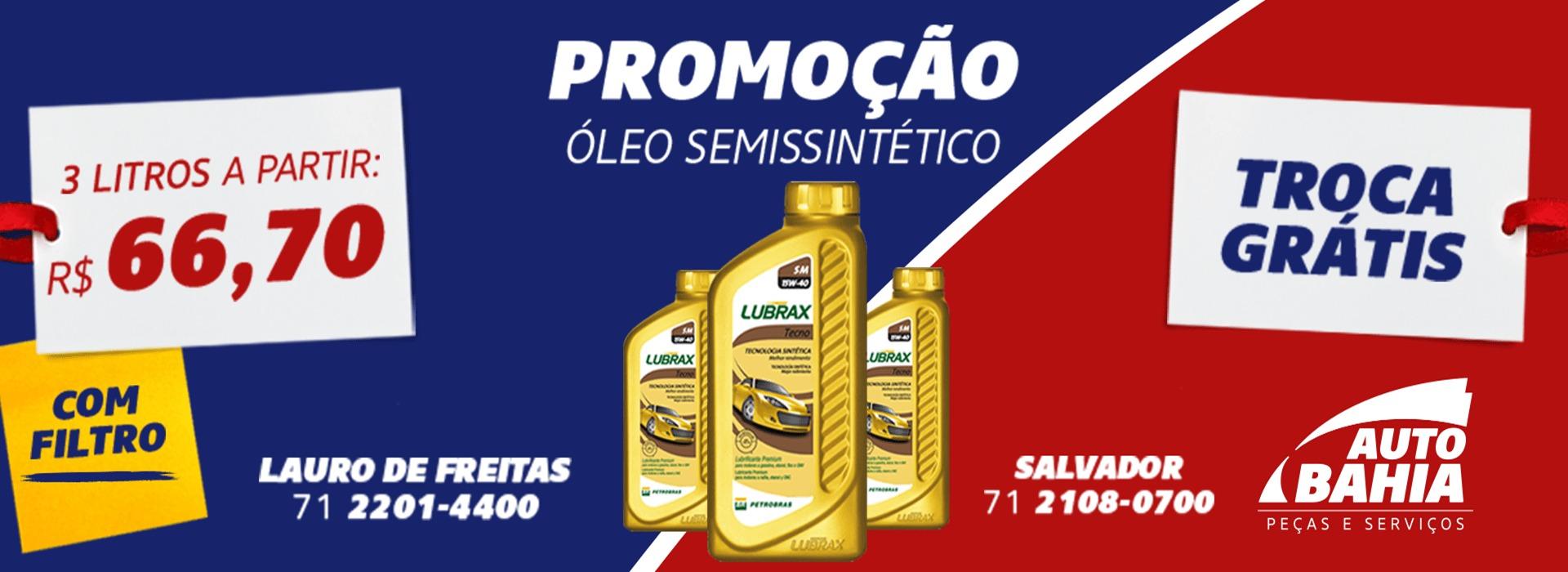 Promoção de Oleo